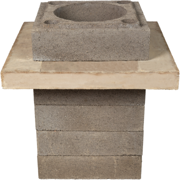 Brick Flange_In Stack