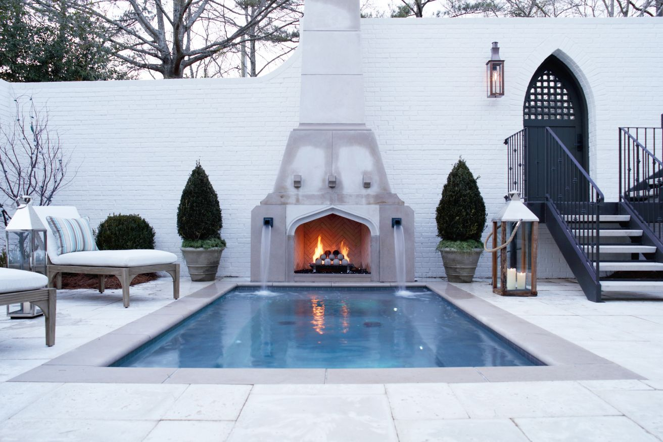 Outdoor Fireplaces by FireRock