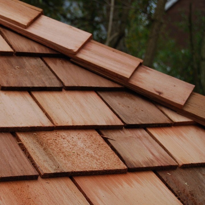 tapersawn cedar shake roofing